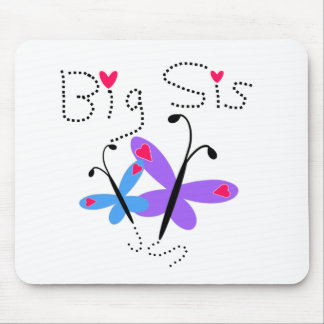 Butterflies Big Sis Mouse Pads