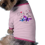 Butterflies  Big Sister Tshirts and Gifts Doggie Shirt