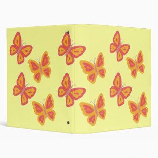 Butterflies Binder