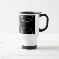 Butterflies Black & White Mugs