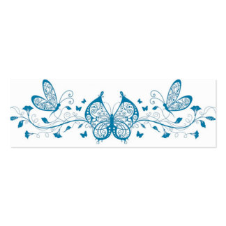 Butterflies bookmark business card