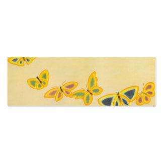 Butterflies - Bookmark Mini Business Card