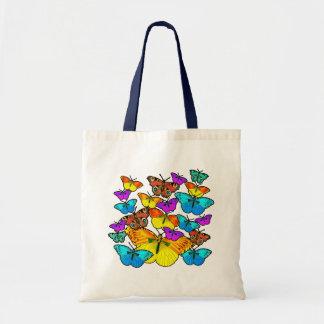 Butterflies! Butterflies! Budget Tote Bag