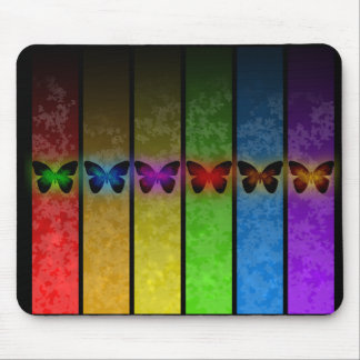 Butterflies Butterfly Mouse Pad Mulit Color