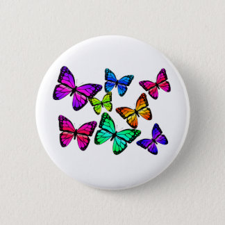 Butterflies Button
