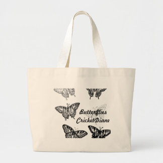 Butterflies by cricketdiane tote bags