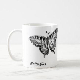 Butterflies by cricketdiane classic white coffee mug