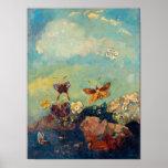Butterflies by Redon Print