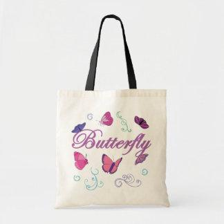 Butterflies Canvas Bag