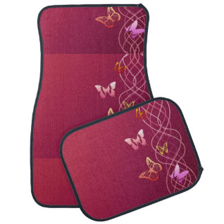 Butterflies Car Mat