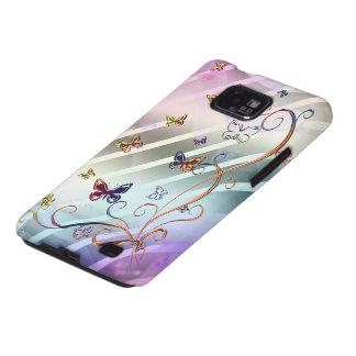 Butterflies Samsung Galaxy SII Cases