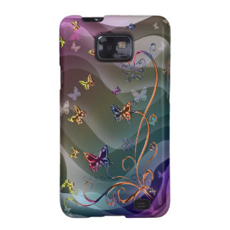 Butterflies Galaxy SII Cases