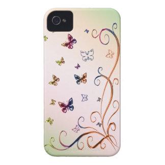Butterflies Case-Mate iPhone 4 Cases