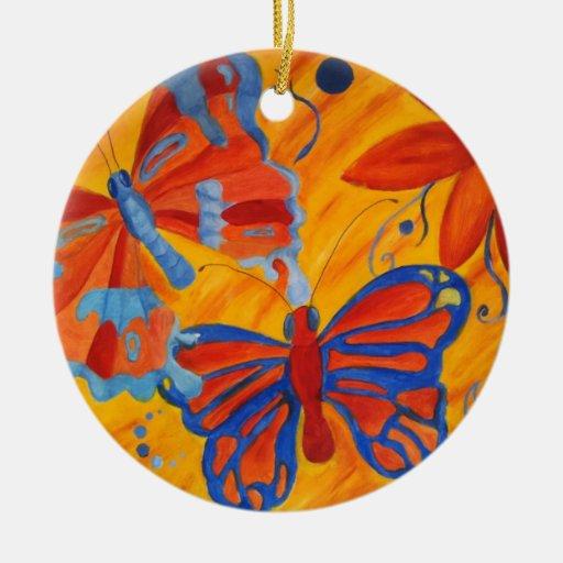 Butterflies Christmas Ornament