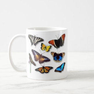 Butterflies Classic White Coffee Mug
