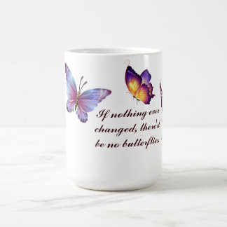 Butterflies Classic White Mug