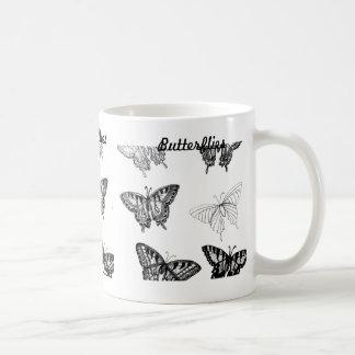 Butterflies Coffee Mug by CricketDiane Basic White Mug