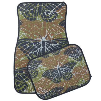 Butterflies Collage Car Floor Mat