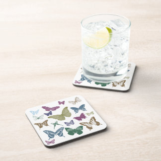 Butterflies Collage Coaster