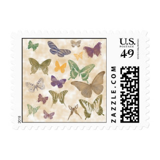 Butterflies Collage Postage