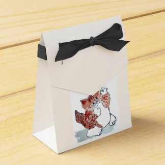 Butterflies Come Out after the Rain & Tiger Kitten Favor Box