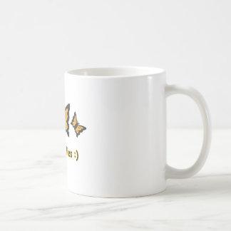 Butterflies copy coffee mug