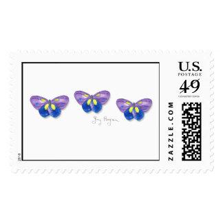 Butterflies Custom Postage