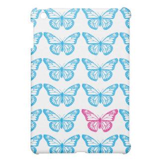 Butterflies Cyan Speck Case iPad Mini Covers