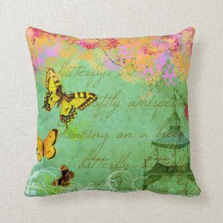 Butterflies Dancing on a Breeze Custom Pillow