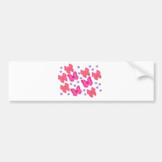 butterflies dig2.jpg bumper sticker