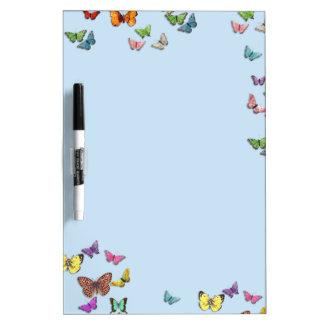 Butterflies Dry Erase Board