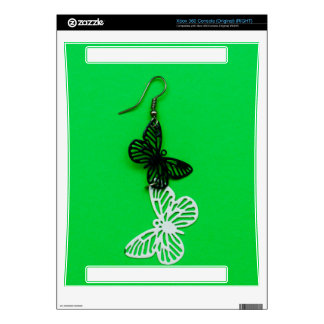 Butterflies earring decal for the xbox 360