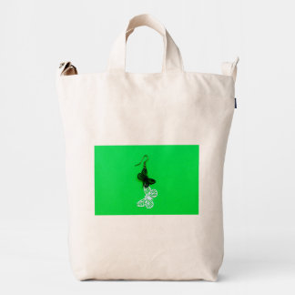 Butterflies earring duck bag