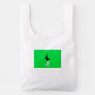 Butterflies earring reusable bag