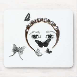 Butterflies everywhere mouse pad