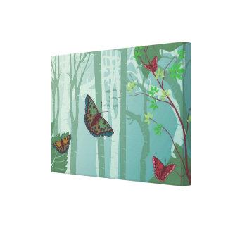 Butterflies Fantasy Canvas Print