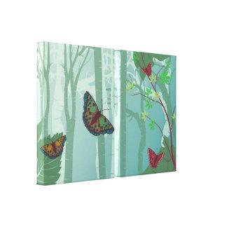 Butterflies Fantasy Canvas Print 2