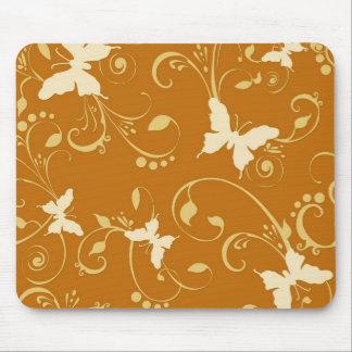 Butterflies Floral 10% Off Sale Mouse Pads
