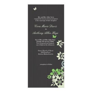 Butterflies & Flowers Announcements
