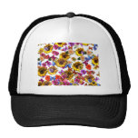 Butterflies & Flowers Full Coverage Graphic Hat