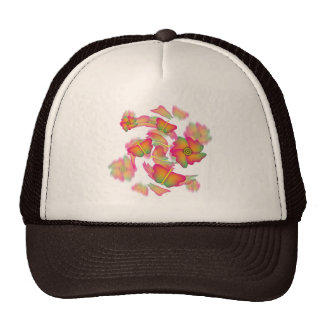 Butterflies & Flowers Trucker Hat