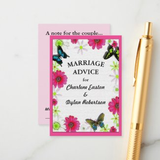 Butterflies & Flowers in Mosaic Marriage Advice