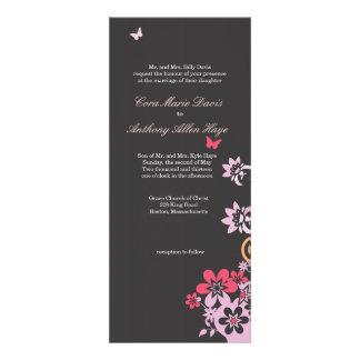 Butterflies & Flowers Invitations