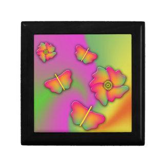 Butterflies & Flowers Keepsake Box