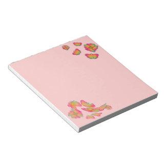 Butterflies & Flowers Notepad