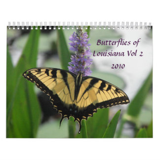 Butterflies & Flowers of Louisiana Vol 2 Calendar