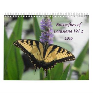 Butterflies & Flowers of Louisiana Vol 2 Calendar
