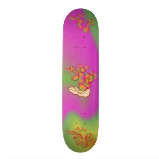 Butterflies & Flowers Skateboard