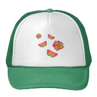 Butterflies & Flowers Trucker Hat