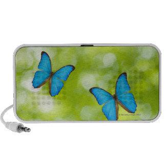 Butterflies flying, Digital Composite Notebook Speakers